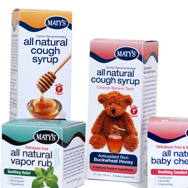 Cough Syrup Boxes