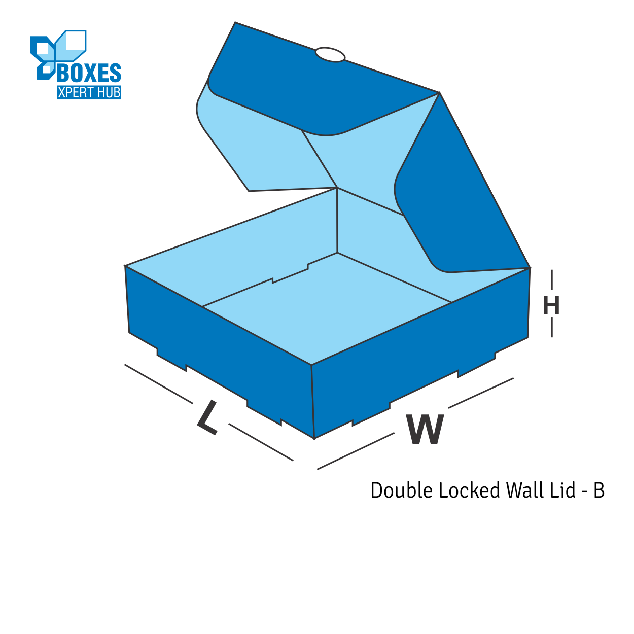Double Locked Wall Lid