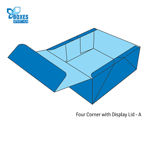 Four Corner Display Lid boxes