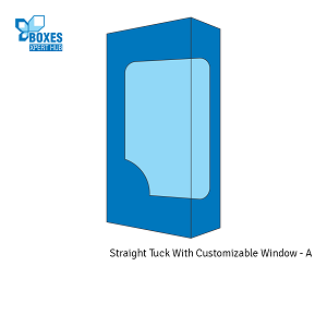Straight Tuck With Customizable Window