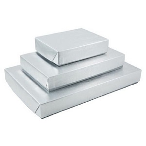 Silver Metalized Boxes