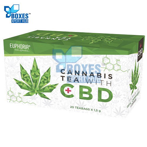 CBD Hemp Tea Boxes
