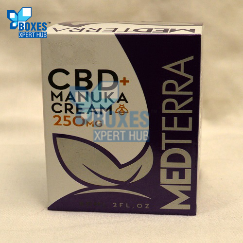 CBD Cooling Cream Boxes