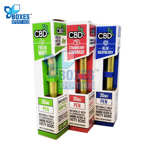 CBD Vape Pen Boxes