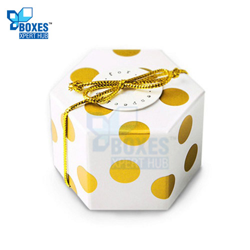 Hexagon Candy Boxes
