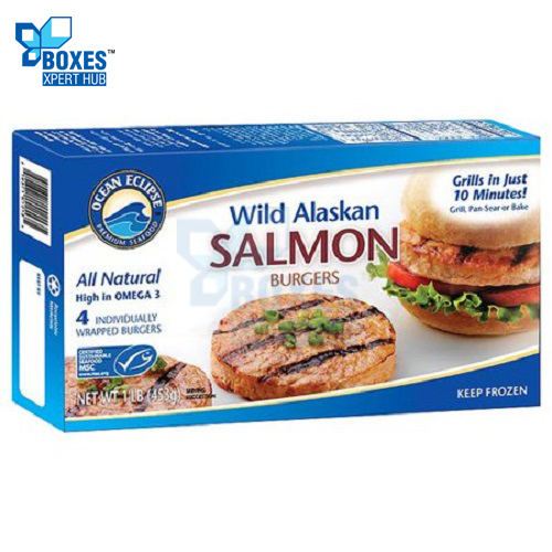 Salmon Burger Boxes