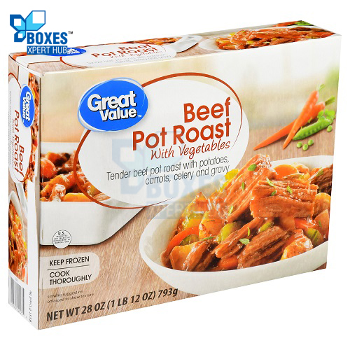 Frozen Beef Pot Roast Boxes
