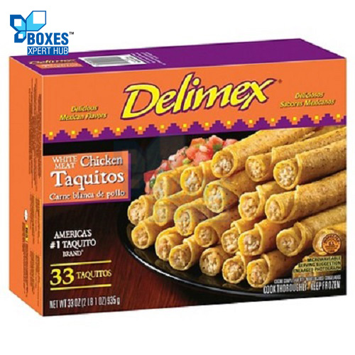 Frozen Taquitos Rolled Boxes