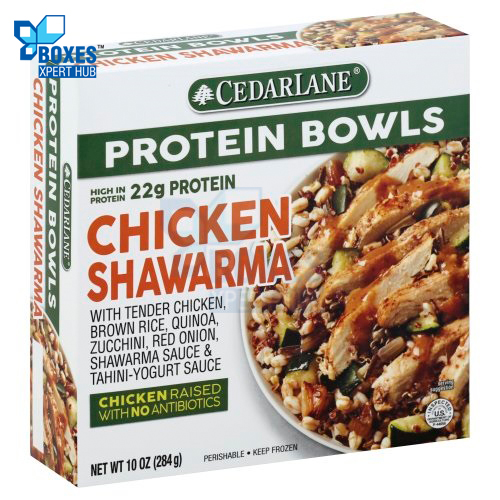 Frozen Chicken Shawarma Boxes