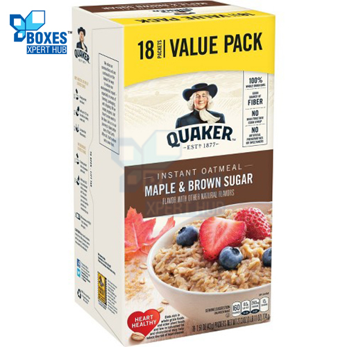 Instant Oatmeal Boxes