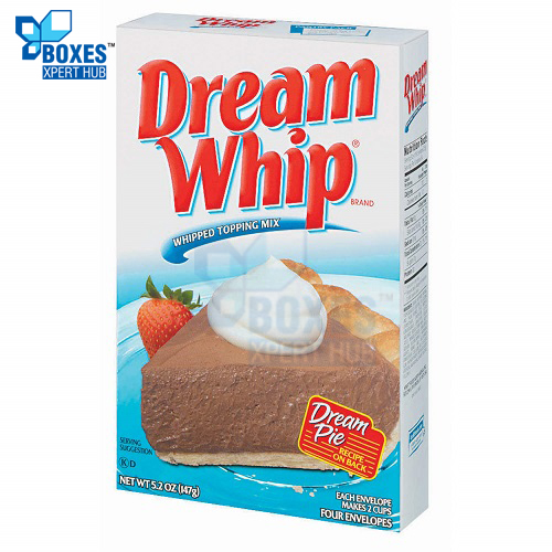Whipped Topping Mix Boxes